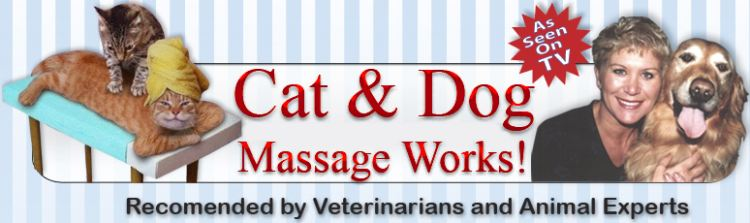 Dog and Cat Massage books and videos